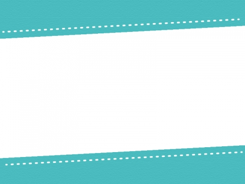 上下の斜めステッチのフレーム飾り枠イラスト02