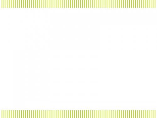 黄緑色の縦ストライプのフレーム飾り枠イラスト
