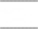 黒色の縦ストライプのフレーム飾り枠イラスト