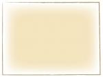 ベージュの手書き線風のフレーム飾り枠イラスト