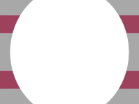 えんじ色×灰色の楕円風フレーム飾り枠イラスト