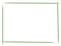 白黒の手書き風のシンプルなフレーム飾り枠イラスト05