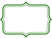 シンプル二重線の飾り罫線のフレームイラスト05