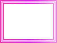 ピンクグラデーションのフレーム飾り枠イラスト