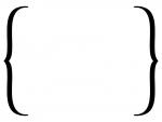 白黒のシンプルな括弧のフレームイラスト02