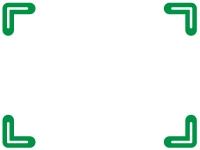 シンプルな四隅フレーム飾り枠イラスト03