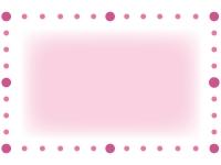 丸で囲ったシンプルなフレーム飾り枠イラスト02