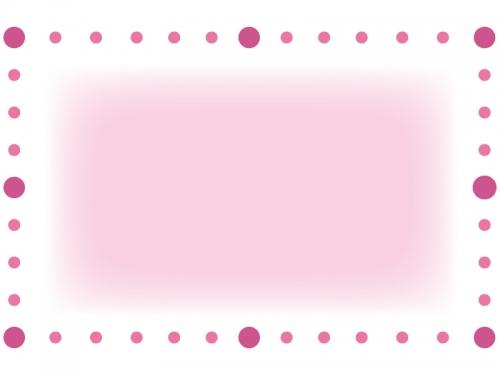 丸で囲ったシンプルなフレーム飾り枠イラスト02 無料イラスト