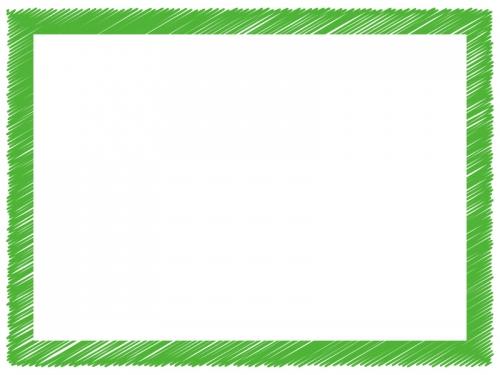落書き風のフレーム飾り枠イラスト