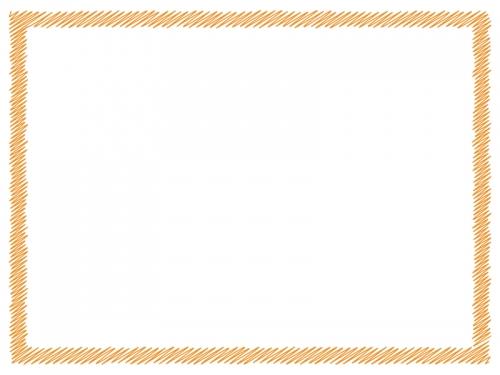 落書き風のフレーム飾り枠イラスト02