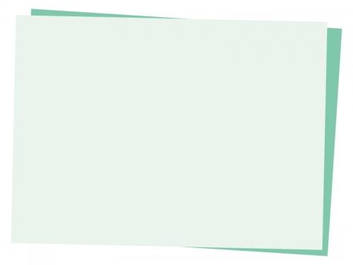 重なった斜めの用紙フレーム飾り枠イラスト