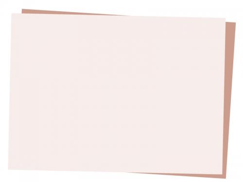 重なった斜めの用紙フレーム飾り枠イラスト02