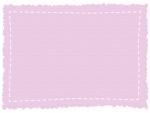 ギザギザの紙風フレームの飾り枠イラスト02