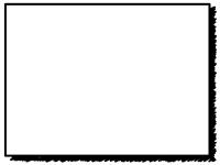 白黒の落書き風のフレーム飾り枠イラスト02
