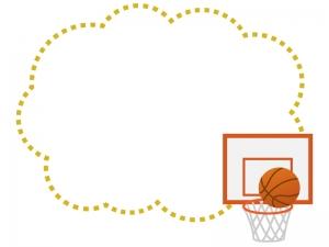 バスケットボール 無料イラスト かわいいフリー素材集 フレームぽけっと