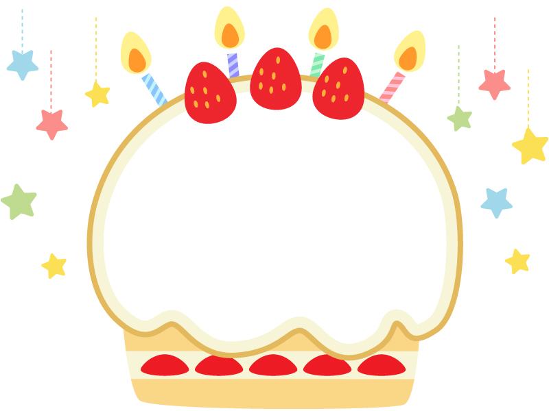 誕生 日 ケーキ イラスト
