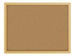 コルクボードのフレーム飾り枠イラスト