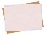 重なった斜めの用紙フレーム飾り枠イラスト03