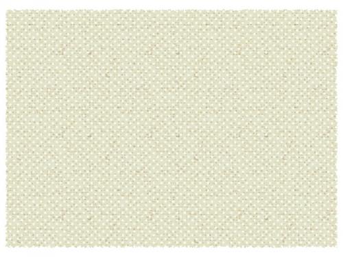白い水玉模様の布のフレーム飾り枠イラスト
